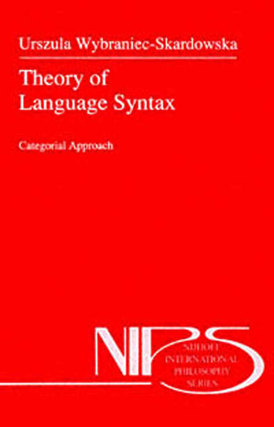Theory of Language Syntax - Coverbild