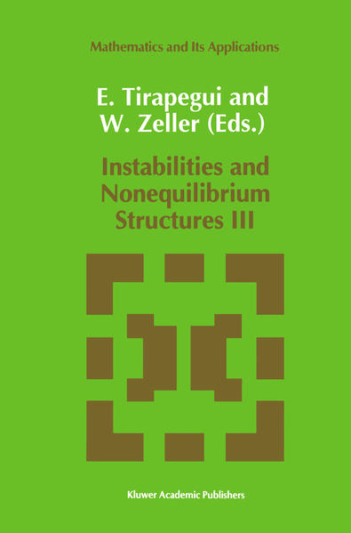 Instabilities and Nonequilibrium Structures III - Coverbild