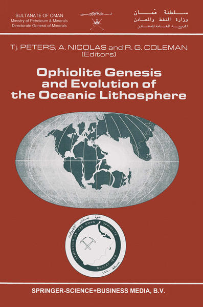 Ophiolite Genesis and Evolution of the Oceanic Lithosphere - Coverbild