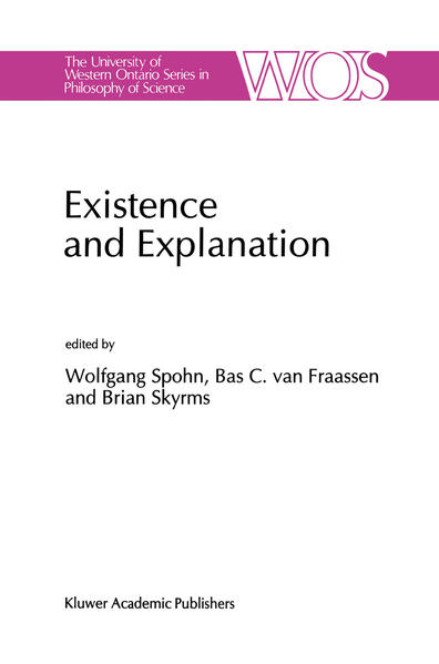 Existence and Explanation - Coverbild