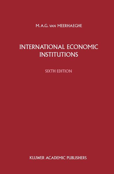 International Economic Institutions - Coverbild