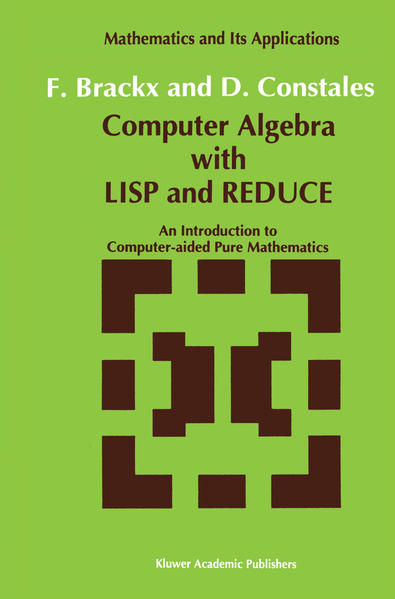Computer Algebra with LISP and REDUCE - Coverbild
