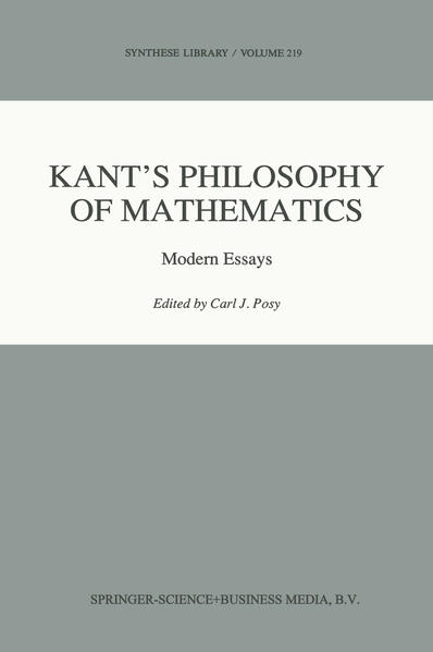 Kant's Philosophy of Mathematics - Coverbild