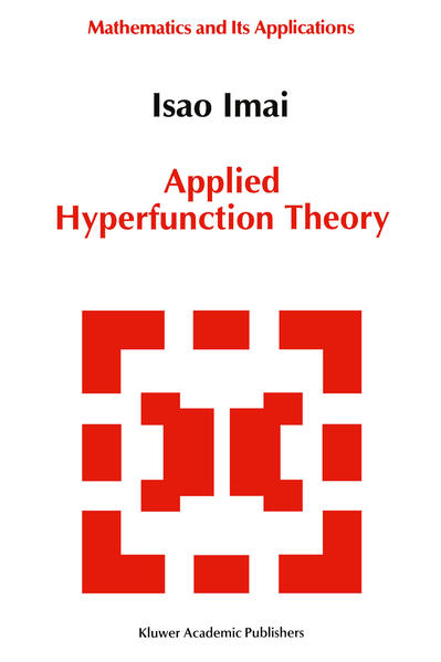 Applied Hyperfunction Theory - Coverbild
