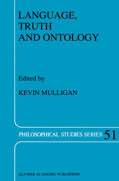 Language, Truth and Ontology - Coverbild