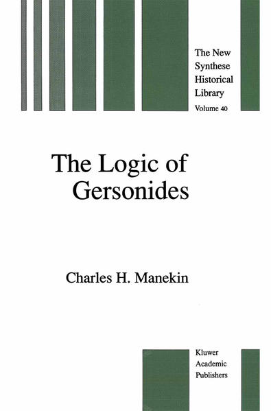 The Logic of Gersonides - Coverbild