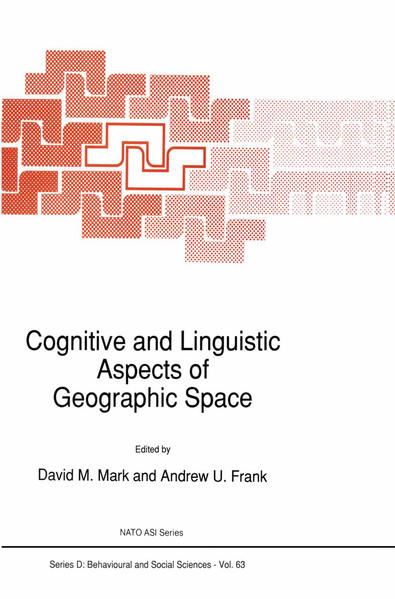 Cognitive and Linguistic Aspects of Geographic Space - Coverbild