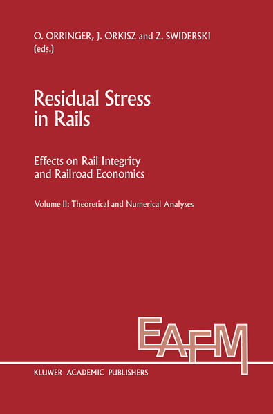Residual Stress in Rails - Coverbild