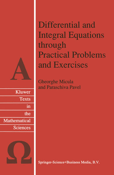Differential and Integral Equations through Practical Problems and Exercises - Coverbild
