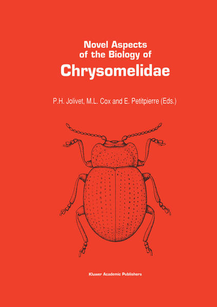Novel aspects of the biology of Chrysomelidae - Coverbild