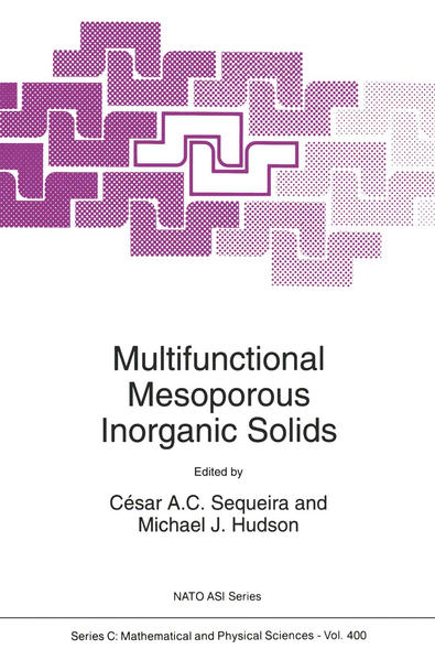 Multifunctional Mesoporous Inorganic Solids - Coverbild