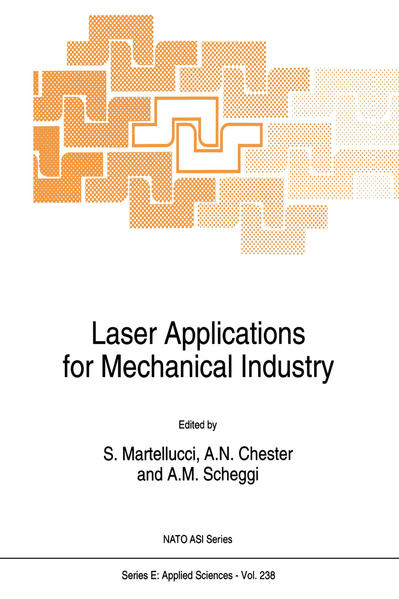 Laser Applications for Mechanical Industry - Coverbild