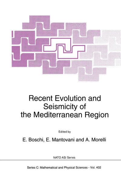 Recent Evolution and Seismicity of the Mediterranean Region - Coverbild
