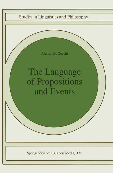 The Language of Propositions and Events - Coverbild