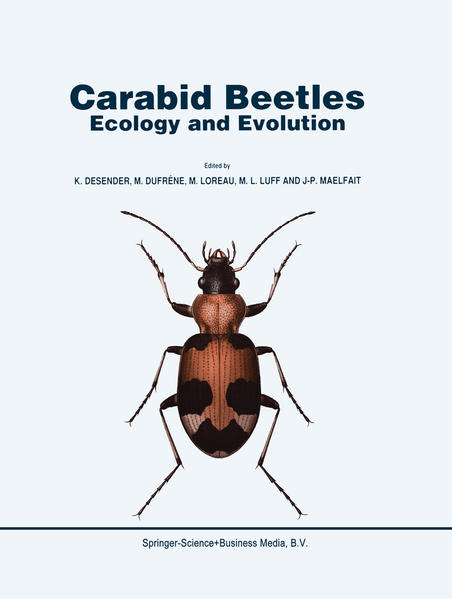 Carabid Beetles: Ecology and Evolution - Coverbild
