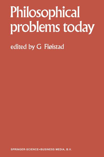 Philosophical Problems Today / Problèmes Philosophiques d'Aujourd'hui - Coverbild