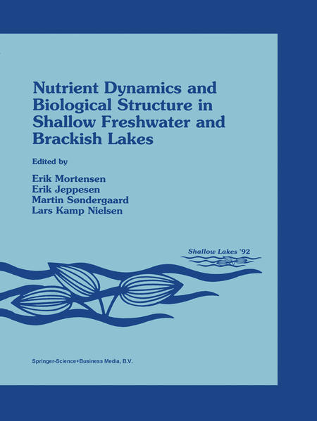 Nutrient Dynamics and Biological Structure in Shallow Freshwater and Brackish Lakes - Coverbild