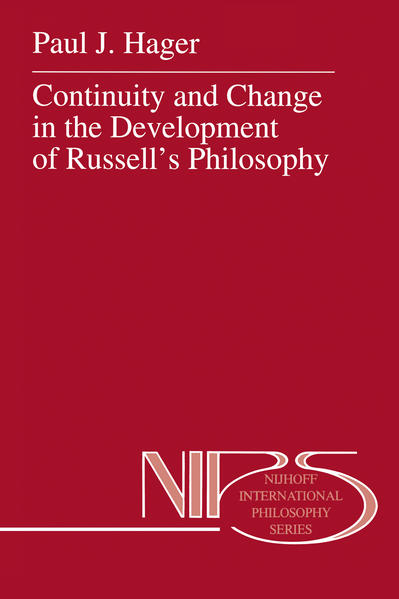 Continuity and Change in the Development of Russell's Philosophy - Coverbild