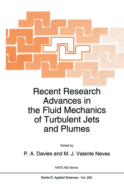Recent Research Advances in the Fluid Mechanics of Turbulent Jets and Plumes - Coverbild