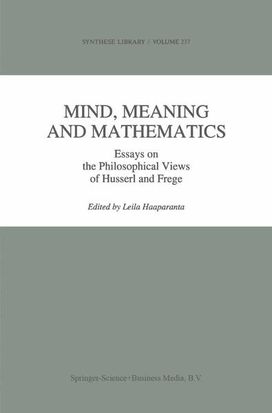 Mind, Meaning and Mathematics - Coverbild