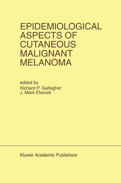 Epidemiological Aspects of Cutaneous Malignant Melanoma - Coverbild