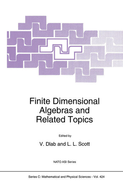 Finite Dimensional Algebras and Related Topics - Coverbild