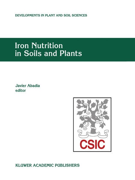 Iron Nutrition in Soils and Plants - Coverbild
