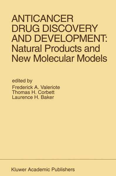 Anticancer Drug Discovery and Development: Natural Products and New Molecular Models - Coverbild