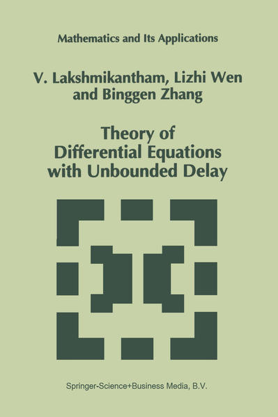 Theory of Differential Equations with Unbounded Delay - Coverbild