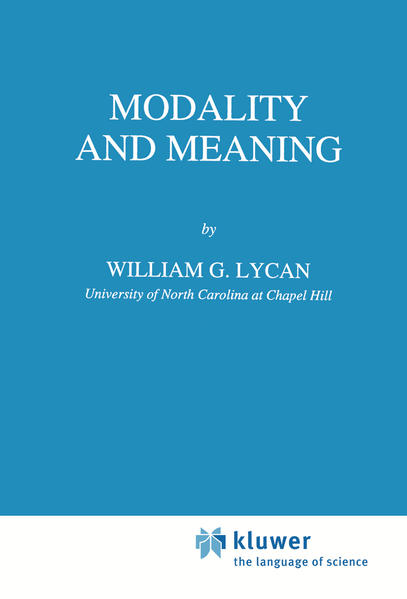 Modality and Meaning - Coverbild