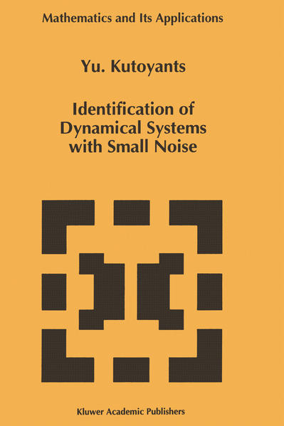 Identification of Dynamical Systems with Small Noise - Coverbild