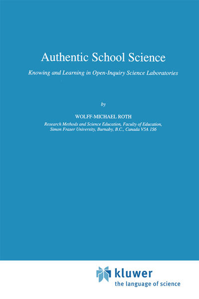 Authentic School Science - Coverbild