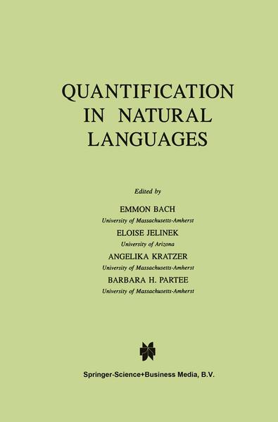 Quantification in Natural Languages - Coverbild