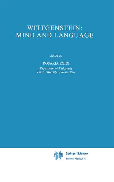 Wittgenstein: Mind and Language - Coverbild