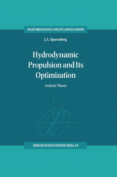 Hydrodynamic Propulsion and Its Optimization - Coverbild
