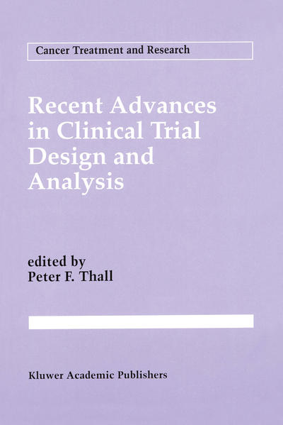 Recent Advances in Clinical Trial Design and Analysis - Coverbild