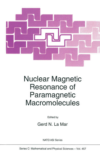 Nuclear Magnetic Resonance of Paramagnetic Macromolecules - Coverbild