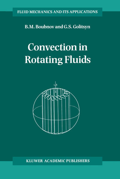 Convection in Rotating Fluids - Coverbild