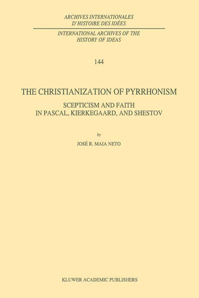 The Christianization of Pyrrhonism - Coverbild