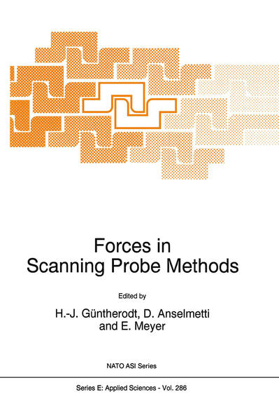 Forces in Scanning Probe Methods - Coverbild