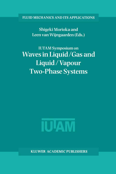 IUTAM Symposium on Waves in Liquid/Gas and Liquid/Vapour Two-Phase Systems - Coverbild