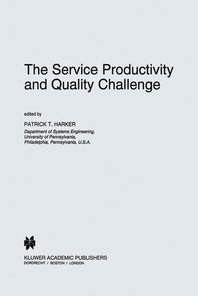 The Service Productivity and Quality Challenge - Coverbild