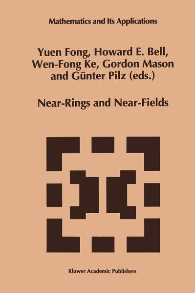 Near-Rings and Near-Fields - Coverbild