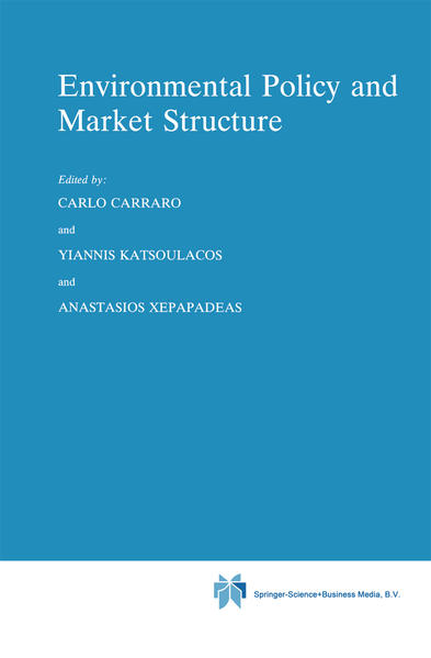 Environmental Policy and Market Structure - Coverbild