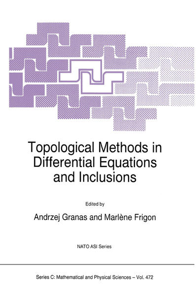 Topological Methods in Differential Equations and Inclusions - Coverbild