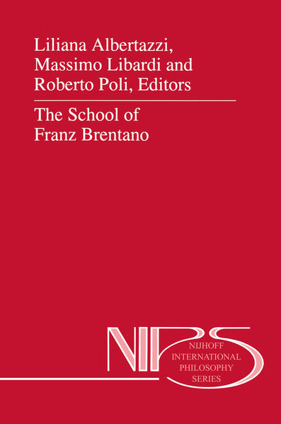 The School of Franz Brentano - Coverbild