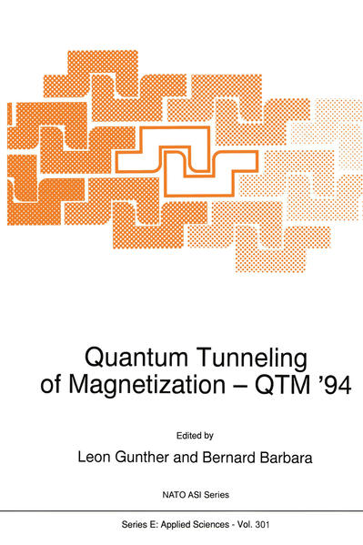 Quantum Tunneling of Magnetization — QTM '94 - Coverbild