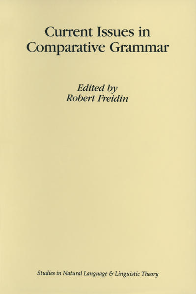 Current Issues in Comparative Grammar - Coverbild