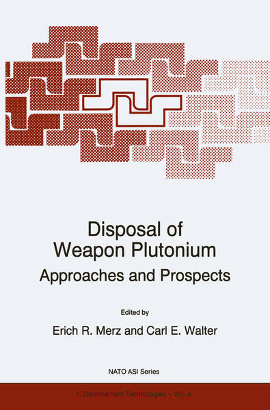 Disposal of Weapon Plutonium - Coverbild