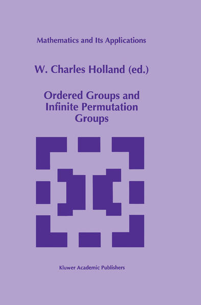 Ordered Groups and Infinite Permutation Groups - Coverbild